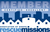 Member - Certified Excellent - Assocaite of Gospel Rescue Missions